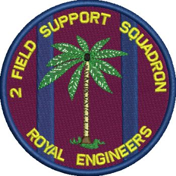 2 FD SP SQN Embroidered Badge